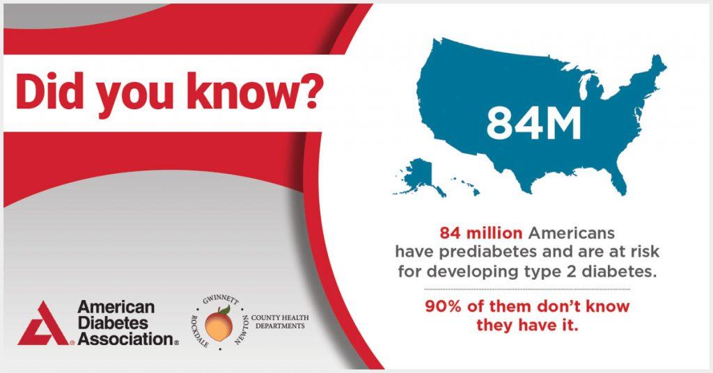 El 90% de los estadounidenses no saben que tienen diabetes.