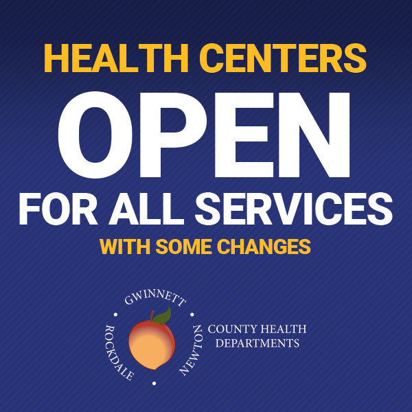 Health Centers have reopened for all services