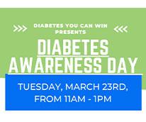 Diabetes Awareness Day Mar 23