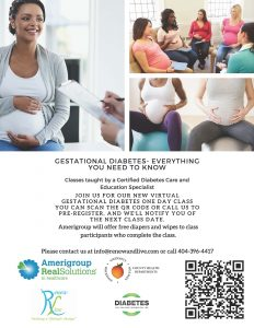 Download Gestation Diabetes Classes Flyer March 2021